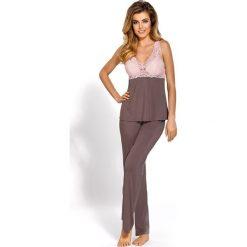 Piżamy damskie: Elegancka damska piżama Caroline