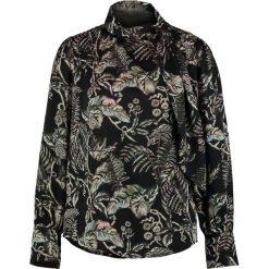 Bluzki asymetryczne: Banana Republic KATINKA FLORAL TIE NECK Bluzka black