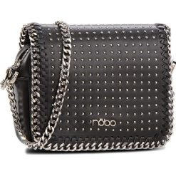 Torebka NOBO - NBAG-F1100-C020 Czarny. Czarne torebki klasyczne damskie marki Nobo, ze skóry ekologicznej. W wyprzedaży za 139,00 zł.