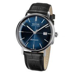 ZEGAREK EPOS Originale 3437.132.20.16.25. Niebieskie zegarki męskie EPOS, ze stali. Za 5200,00 zł.