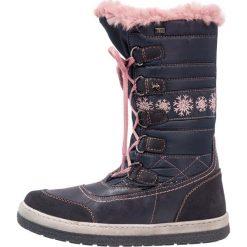 Lurchi ALPY TEX Śniegowce navy rose. Czarne buty zimowe damskie marki Lurchi, z materiału. W wyprzedaży za 199,20 zł.
