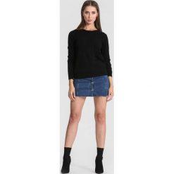 Czarny Sweter Your Choice. Czarne swetry klasyczne damskie other, na jesień, l. Za 64,99 zł.