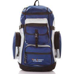 Trekkingowy plecak górski Bag Street Mountain. Niebieskie plecaki damskie marki Bag Street, street. Za 99,00 zł.