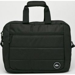 Quiksilver - Torba. Czarne torby na laptopa Quiksilver, w paski, z materiału. Za 199,90 zł.