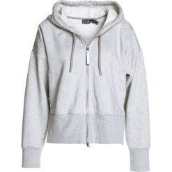 Adidas by Stella McCartney HOODIE Bluza rozpinana margry. Szare bluzy damskie adidas by Stella McCartney, m, z bawełny. W wyprzedaży za 349,30 zł.
