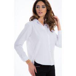 Biała koszula z perełkami 21337. Białe koszule damskie Fasardi, l. Za 69,00 zł.