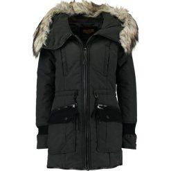 Khujo RETROBUGS Płaszcz zimowy black. Czarne płaszcze damskie pastelowe khujo, na zimę, xl, z bawełny. W wyprzedaży za 575,20 zł.