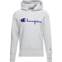 Champion Reverse Weave HOODED Bluza z kapturem grey. Szare bluzy męskie rozpinane Champion Reverse Weave, m, z bawełny, z kapturem. Za 399,00 zł.