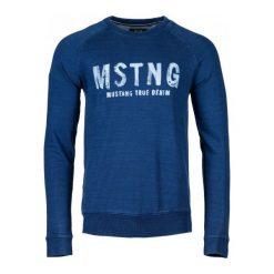 Bejsbolówki męskie: Mustang Bluza Męska Xl Niebieski