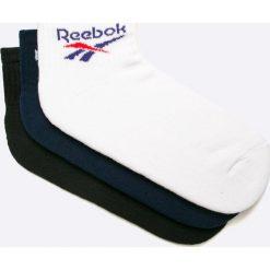 Reebok Classic - Skarpety (3-pack). Białe skarpetki męskie Reebok Classic, z bawełny. W wyprzedaży za 49,90 zł.