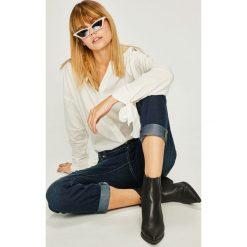 Armani Exchange - Jeansy. Czarne jeansy damskie marki Armani Exchange, l, z materiału, z kapturem. Za 569,90 zł.