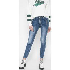 Answear - Jeansy Sporty Fusion. Szare jeansy damskie marki ANSWEAR. W wyprzedaży za 99,90 zł.