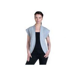 CITY kamizelka damska gray. Szare kamizelki damskie Slogan ubrania ekologiczne, etyczne i wegańskie, l, z bawełny. Za 129,00 zł.