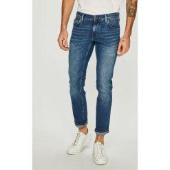 Tommy Hilfiger - Jeansy Denton. Niebieskie jeansy męskie z dziurami marki TOMMY HILFIGER. Za 449,90 zł.