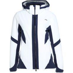 Odzież damska: Kjus WOMEN LAINA JACKET Kurtka narciarska wht/atlanta blue