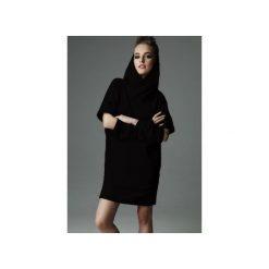 Sukienka Holey Freak - czarna. Czarne sukienki dzianinowe marki Sinsay, l, z kapturem. Za 289,00 zł.