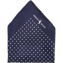 Krawaty męskie: Polo Ralph Lauren ST. JAMES SPOT HAND HEM Poszetka navy