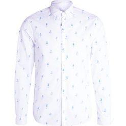 Koszule męskie na spinki: Blend Koszula offwhite