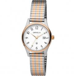 Zegarek kwarcowy w kolorze srebrno-biało-różowozłotym. Szare, analogowe zegarki damskie Esprit Watches, ze stali. W wyprzedaży za 227,95 zł.