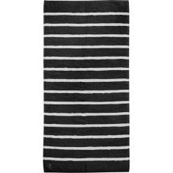 """Kąpielówki męskie: Ręcznik kąpielowy """"Menton"""" w kolorze czarnym"""
