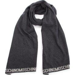 Szal MOSCHINO - 30603 M1879 015. Brązowe szaliki męskie MOSCHINO, z kaszmiru. Za 559,00 zł.