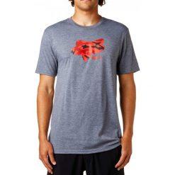 T-shirty męskie: FOX T-Shirt Męski Stenciled Tech S Szary