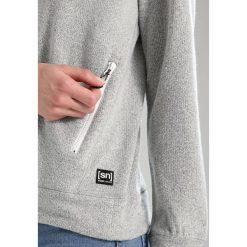 Super.natural VACATION KNIT CREW Bluza grey melange. Szare bluzy rozpinane damskie super.natural, l, z bawełny. W wyprzedaży za 377,40 zł.