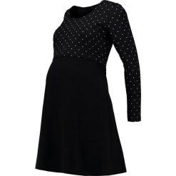 Sukienki hiszpanki: Boob DOTTIE Sukienka z dżerseju black/offwhite