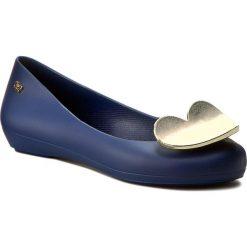 Baleriny ZAXY - Pop Heart Fem 82002 Navy 51765 W285013. Niebieskie baleriny damskie Zaxy, z materiału. W wyprzedaży za 139,00 zł.