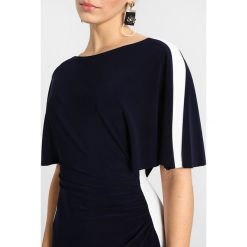 Sukienki hiszpanki: Lauren Ralph Lauren Petite POLINE ELBOW SLEEVE DAY DRESS Sukienka z dżerseju navy/white