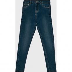 Blukids - Jeansy dziecięce 140-170 cm. Niebieskie rurki dziewczęce Blukids, z bawełny. Za 39,90 zł.