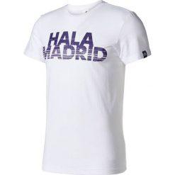 Adidas Koszulka Real Graphic Tee Better biała r. XS (AZ5357). Białe koszulki sportowe męskie Adidas, m. Za 95,01 zł.