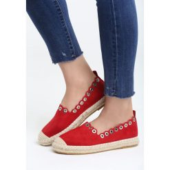 Czerwone Espadryle Say Yes. Czerwone espadryle damskie marki Napapijri, z materiału. Za 59,99 zł.