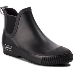 Kalosze GANT - Mandy 17599835 Black G00. Czarne buty zimowe damskie GANT, z polaru. Za 269,90 zł.