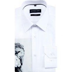 Koszula SIMONE KDBS000388. Czarne koszule męskie na spinki marki Cropp, l. Za 229,00 zł.
