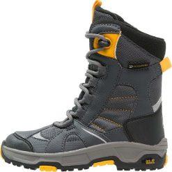 Jack Wolfskin SNOW RIDE TEXAPORE Śniegowce burly yellow. Żółte buty zimowe damskie marki Jack Wolfskin, z materiału. W wyprzedaży za 213,85 zł.