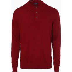 Andrew James - Sweter męski z dodatkiem kaszmiru, czerwony. Czerwone swetry klasyczne męskie Andrew James, m, z kaszmiru. Za 249,95 zł.