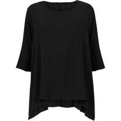 Bluzki damskie: Bluzka z dłuższymi bokami bonprix czarny