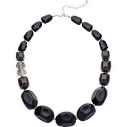 Łańcuszki damskie: Łańcuszek z perełkami bonprix czarno-oliwkowy