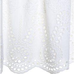 Sukienki dziewczęce z falbanami: Friboo Sukienka koszulowa bright white
