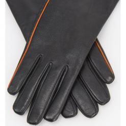 Skórzane rękawiczki - Czarny. Brązowe rękawiczki damskie marki Roeckl. Za 119,99 zł.