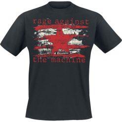 Rage Against The Machine Newspaper Star T-Shirt czarny. Czarne t-shirty męskie z nadrukiem Rage Against The Machine, m, z okrągłym kołnierzem. Za 74,90 zł.