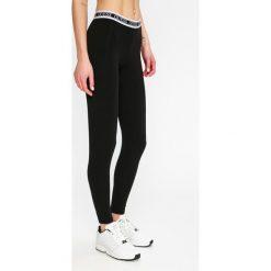Guess Jeans - Legginsy. Czarne jegginsy damskie marki bonprix, z podwyższonym stanem. Za 129,90 zł.