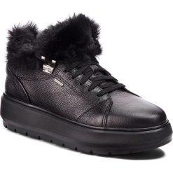 Sneakersy GEOX - D Kaula B Abx A D84AWA 00046 C9999 Black. Czarne sneakersy damskie Geox, z materiału. Za 559,00 zł.