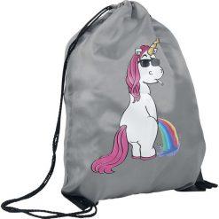 Torebki i plecaki damskie: Jednorożec Cool Unicorn Torba treningowa szary