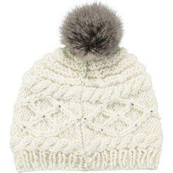 Barts - Czapka Claire. Szare czapki zimowe damskie marki Barts, na zimę, z dzianiny. W wyprzedaży za 79,90 zł.