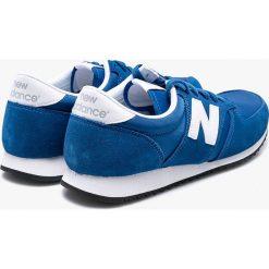 New Balance - Buty U420BWN. Niebieskie halówki męskie New Balance, z gumy, na sznurówki. W wyprzedaży za 239,90 zł.