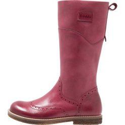 Froddo Kozaki bordeaux. Czerwone buty zimowe damskie Froddo, z materiału, na wysokim obcasie. W wyprzedaży za 239,85 zł.