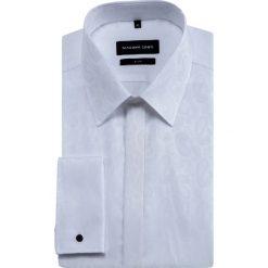 Koszula SIMONE KDBS000541. Szare koszule męskie na spinki marki Giacomo Conti, m, paisley, z bawełny, z klasycznym kołnierzykiem, z długim rękawem. Za 299,00 zł.