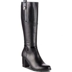 Kozaki SERGIO BARDI - Caminata FW127364418JN 601. Czarne buty zimowe damskie Sergio Bardi, z lakierowanej skóry, na obcasie. Za 479,00 zł.